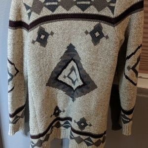 Luck Brand Aztec Sweater